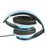 Lightweght Wire Sopra-Ear HD Stereo Headset Soft Leather Ear Cups con il Mic in-linea