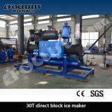 300 Tonnen Block-Eis-Maschinen-große Kapazitäts-industrielle Eis-Maschinen-