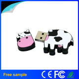 2016 movimentações reais do flash do USB da forma da vaca da capacidade total para o presente relativo à promoção