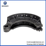 Truck resistente Brake Shoe per HOWO 162mm