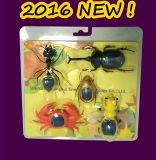 2016 presente novo #16n1-12 do Natal do brinquedo da potência in-1 DIY solar do brinquedo 5 dos miúdos