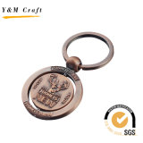 Metallo Letter Key Ring con Logo Color Filled (Y03841) -1