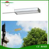 Luz de rua flexível ao ar livre de alumínio solar sensível do brilho elevado de liga IP65 da luz 48LED do sensor de radar