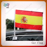 Изготовленный на заказ дешевый флаг окна автомобиля полиэфира для рекламировать (HY1124)