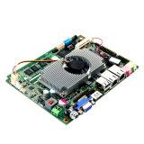 Entrada ancha Lvds mini N2800 Fanless Mainboard del voltaje de la placa madre del procesador de Intel N2800
