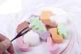 Molde dos doces da geléia do silicone da decoração do Natal