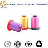 Filato cucirino dell'alto di tenacia di Dyeable poliestere del filamento