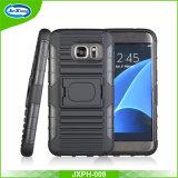 La caja del teléfono móvil de plástico duro para Samsung S7