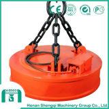 Mandrino elettromagnetico di sollevamento del magnete della gru per il trattamento dei piatti d'acciaio