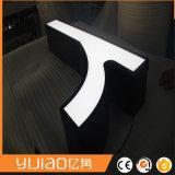 Lettre imperméable à l'eau extérieure d'acrylique de face d'intense luminosité