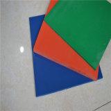 Cuatro hoja de goma de goma del caucho del neopreno de la hoja de la hoja SBR de los colores