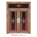 Trappe /Stainless Steel Door /Entrance Door/Son et Mother (6627)
