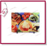 "8 "" Personalized Printing를 위한 승화 Plain Glass Chopping Board"