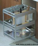 Neuer Lack-Küche-Schrank des Entwurfs-2017