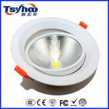 Aluminium DEL Downlight du plafond enfoncé par ÉPI 8W 3inch PF>0.9 de DEL