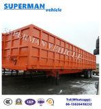 13 van de Op zwaar werk berekende van Twee As van het Compartiment van de Zijgevel van de Lading meters Aanhangwagen van de Vrachtwagen Semi