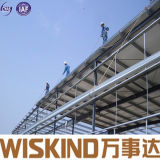 조립식 가벼운 금속 건축 작업장 창고의 구조상 구조물 물자