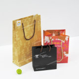 Sac de papier personnalisé par coutume de Papier d'emballage Brown pour le cadeau