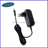 EU Plugとの12V1.5A Wall Mount Power Adapter