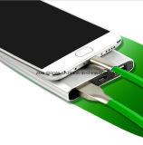 Universial Qualitäts-Energien-Bank, die Mikro-USB-Kabel für Android und IOS-Telefon, zwei in einem USB-Kabel-Verbinder auflädt