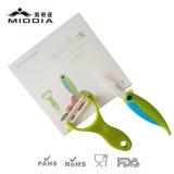 El cuchillo de cocina de cerámica 2PCS fijó para el cuchillo y el Peeler de bolsillo