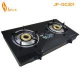 Fare in fornello di gas della Cina Temperedglass Jp-Gcg301 tre