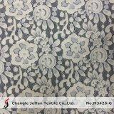 복장 (M3426-G)를 위한 트리코 면 꽃 레이스 직물