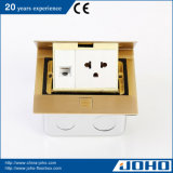 MessingMaterial Pop oben Type Contractor Floor Box 15A Socket