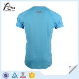 Usure 100% en bonne santé de fonctionnement de chemise de dri de polyester de Microfiber de Mens