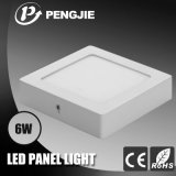 屋内LEDのパネルのための280mAアルミニウム6W LED軽いパネル