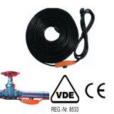 Câble chauffant de conduite d'eau de la protection 168W de pipe pour les pipes gelées