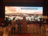 Parete dell'interno locativa piena della visualizzazione di LED di colore HD P4 video con 3 anni di garanzia