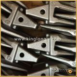 Землечерпалки куя части зубов ведра запасные для машинного оборудования конструкции
