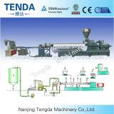 Sistema de la máquina de peletización Anillo agua extrusora de doble husillo con alta velocidad