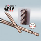 Торцевая фреза карбида вольфрама 4 режущих инструментов CNC каннелюры твердая