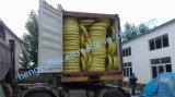 Boyau hydraulique en caoutchouc flexible tressé de fil d'acier En857 2sc pour le marché de l'Europe