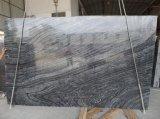 Sepeggraniteの黒い大理石、ブラックフォレストの大理石の平板、黒い木の大理石の製造業者