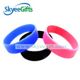 Alta qualità Blank Silicone Wristband con Any Pantone Color