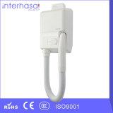 L'altro elettrodomestico parte il tipo fon bianco della pelle del corpo dell'ABS elettrico fissato al muro