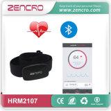 Correa sin hilos del pecho de Bluetooth 4.0 del ritmo cardíaco 2.4GHz (HRM-2107)