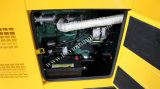 Генератор энергии 50kw двигателя дизеля Рикардо портативный молчком резервный тепловозный