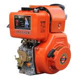 Het luchtgekoelde Elektrische Begin van de Schacht van de Lat van het Type van Luxe van de Dieselmotor (HR188FAE)