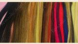 1PC 32は人間の毛髪の拡張かつら/ヘアーサロンのための袋が付いている100%の人間の毛髪カラーリングのカラー・チャートカラー材料見本を着色する