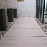La alta calidad hueco WPC terrazas piso al aire libre (M21)