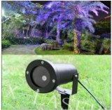 Lumière laser extérieure de Noël et de lumières de jardin de décoration bleue verte et rouge de projecteur de lumière laser