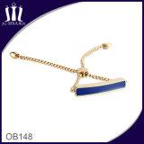 Braccialetto Chain di Rolo del distintivo di identificazione dello smalto