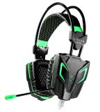 Gamer (K-13)のためのワイヤーで縛られたNoise Reduction LED Vibration Gaming Headset