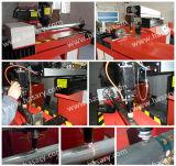 machine de découpage de laser de commande numérique par ordinateur de tube de tôle de 650W 800W