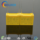 상자에 의하여 금속을 입히는 폴리프로필렌 필름 축전기 (X2 0.33UF/275V D4)