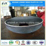 Pista servida de los casquillos de extremo del acero de carbón para la caldera con el orificio